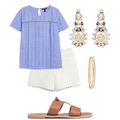 SPRING by shesgonepreppy on Polyvore featuring Violeta by Mango, Moschino Cheap & Chic, Madewell, REMINISCENCE, Kate Spade and Willow & Clo