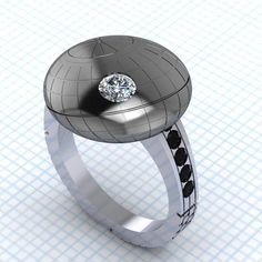 Death Star Ring That's Too Beautiful To Blow Up