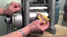 Polishing and cleaning your rolling mill - tip from Ronda Coryell and Rio Grande