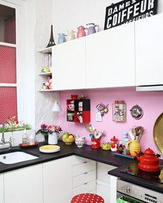 Kitsch Kitchen Cocina de antes!