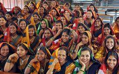 women in Ilkal sarees ( Dharwad) #mystatewithjaypore