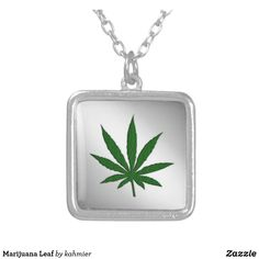 Marijuana Leaf Silve
