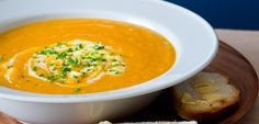 Carrot soup recipe, NZ Womans Weekly – visit Eat Well for New Zealand recipes using local ingredients - Eat Well (formerly Bite) Lunch Recipes, Pasta Recipes, Soup Recipes, Cooking Recipes, Weekly Recipes, Healthy Recipes For Weight Loss, Healthy Foods To Eat, Healthy Soups, Curry Soup