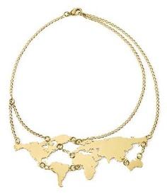 globe necklace...