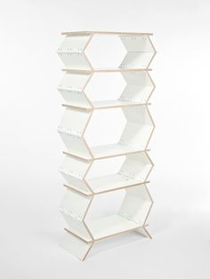 Expandable shelves- when there is nothing stored on the shelves, the shelves collapse.
