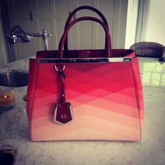 Fendi 2Jours Degrade Shopper | Spotted on januaryjones