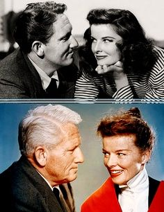 Katherine Hepburn & Spencer Tracy