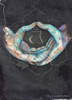 Svadhisthana - sacral chakra mudra by Tilly Campbell-Allen