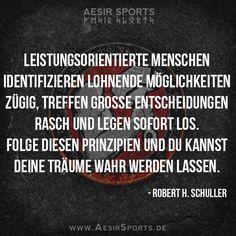 Keine Zeit zum Zögern. - Aesir Sports & www.AesirSports.de