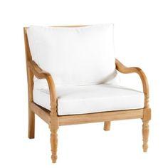 Ceylon Lounge Chair with Cushions | Ballard Designs