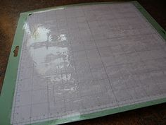 """How to """"re-stick"""" your mat but also tells how to get the old """"gunk"""" off of it first."""