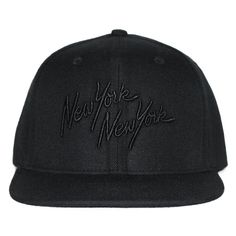 2eed2ffc3f0 PRIVILEGE x Bongiorno NYNY Snapback Cap Black Black