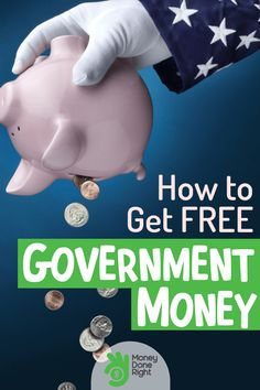 The government has many programs providing assistance for food, utilities, education, and other needs. Here's how you can get free government money. Money Hacks, Money Tips, Money Saving Tips, Make Side Money, Ways To Get Money, Stuff For Free, Free Stuff By Mail, Coupons For Free Items, Free Money Now