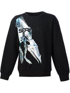 JUUN.J Juun.J x Hajime Sorayama  print sweatshirt. #juun.j #cloth #sweatshirt