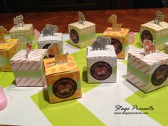 Personalized Animal Baby Shower Favors styled by Stage Presents
