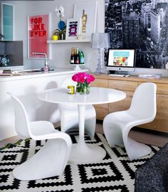 Small space style :: inner city apartment living.
