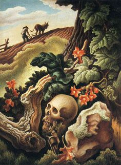 After Many Springs by Thomas Hart Benton (1945) American Painter