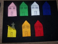 This is a great game for toddlers learning their colors.  Items needed:  Felt (in colors you are aiming to teach) Felt mouse Felt board S...