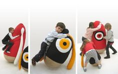 punch'n'cuddle...emotional furniture for kids and kidults