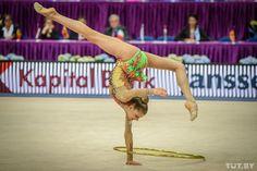 Aleksandra Soldatova (Russia) won bronze in all-around at Grand Prix, Holon, 2015