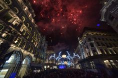 The incredible switch on moment this year at the Regent Street Christmas Lights switch on event, 2013.