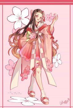 Chica Anime Manga, Anime Couples Manga, Kawaii Anime, Anime Art, Demon Slayer, Slayer Anime, Cute Anime Pics, Awesome Anime, Anime Angel