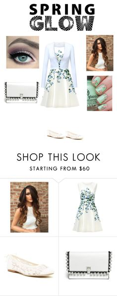 """""""Get Your Spring Glow On!"""" by thea-mh ❤ liked on Polyvore featuring beauty, ERIN Erin Fetherston, Soludos, Proenza Schouler and springglow"""