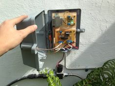 arduino automatic water system for raised garden bed