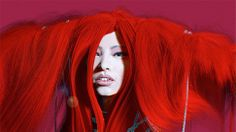 Lady In (Crazy) Red (Hair)