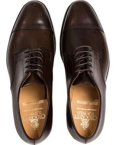 c5f0715d Crockett & Jones Bradford Derby Dark Brown Cordovan