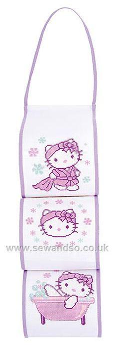 Hello Kitty Toilet Roll Holder