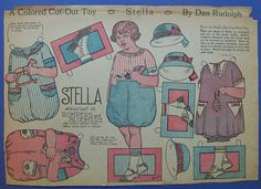By Dan Rudolph 1924 Stella steps out in rompers and bloomers From Ebay I had never seen these before or since. They are so cool.