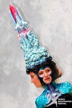 festival mondial de peinture sur corps de Daegu 3