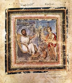 ViennaDioscoridesAuthorPortrait - Evangelist portrait - Wikipedia, the free encyclopedia