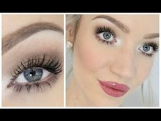 Good for hooded eyes -'Everyday' Makeup Tutorial! (Easy but Pretty!) - YouTube