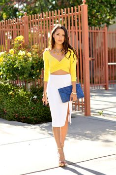 Bebe Yellow Wrap Cross Front Top  # #Hapa Time #Summer Trends #Women's Fashion Bloggers #Best Of Fashion Bloggers  #Bebe #Top Cross Front #Cross Front Tops #Cross Front Top Yellow #Cross Front Top Bebe #Cross Front Top Wrap #Cross Front Top Clothing #Cross Front Top 2014 #Cross Front Top OOTD #Cross Front Top How To Wear