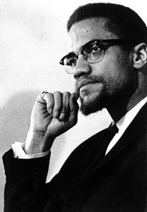 Malcolm X - I chose my camp name after this awe-inspiring, paradigm shifting, life changing activist.