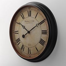 14 Inch Wall Clock From Sterling Amp Noble Enclosed In An