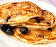 Diabetic Recipes: Blueberry pancakes