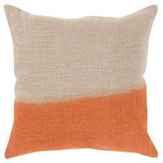 """Roxbury Dip Dyed Pillow 18"""" x 18"""""""