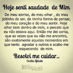 Resolvi voltar a ser eu mesma e parar de me importar com oq os outros falam ou pensam de mim The Words, More Than Words, Better Day, Motivation, Favorite Quotes, Quotations, Me Quotes, Self, Inspirational Quotes