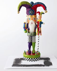 """Court Jester"" Nutcracker"