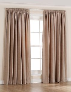 Chenille Thinsulate Pencil Pleat Curtains: Stylish pencil pleat curtains with a chenille fabric. Pleated Curtains, Red Curtains, Curtains Ready Made, Pencil Pleat, Chenille Fabric, Warm, Living Room, Bedroom, Stylish