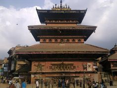 Bhad Gaon ( Bhaktapur ) Nepal.  Bhairav Temple