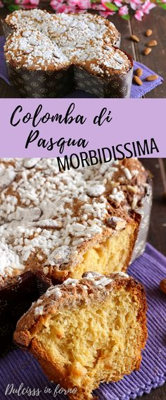 Colomba pasquale ricetta - Colomba di Pasqua fatta in casa con lievito di birra - Colomba morbida e soffice - Easter dove bread - Dove shaped easter cake - Easter cake baked in the shape of a dove - Italian easter cake