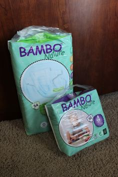 Definitely recommend these Bambo Nature eco-friendly diapers. Read our review!