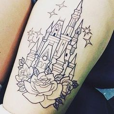 If I ever get a tattoo this would probably be it.. #disney #castle # ...
