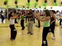 """A selection from the 4/5/08 Zumba Fitness Marathon to support the Arthritis Foundation.  This song is """"Que Te Pica"""" by Notch, and the routine is led by the fabulous Tea."""