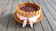 Today I'm making a gorgeous and super yummy Charlotte Tiramisù Cake! I made this cake for my Grandma's birthday and I have to say everyone loved it! Tiramisu Cheesecake, Tiramisu Dessert, Charlotte Cake, Italian Desserts, Apple Recipes, Mousse, Deserts, Birthday Cake, Postres