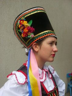 Costume of kurpie zielone Art Costume, Folk Costume, Dance Costumes, Folk Clothing, Historical Clothing, Vintage Clothing, Traditional Fashion, Traditional Dresses, Country Costumes